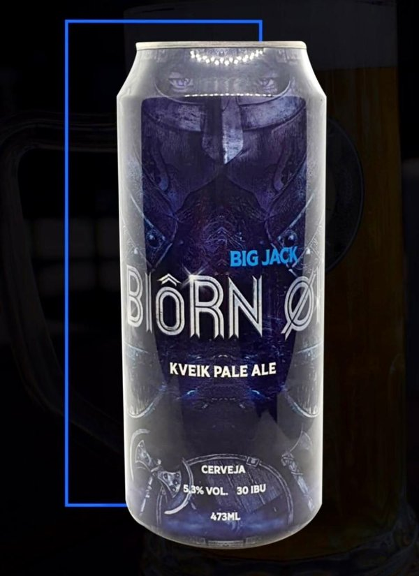 Cerveja Big Jack Kveik Pale Ale Biorn - Lata 473ml