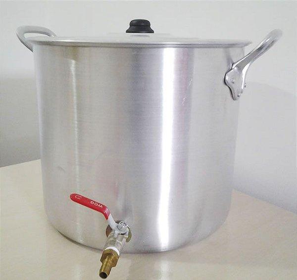 Caldeirão / Panela de Fervura - 40 litros