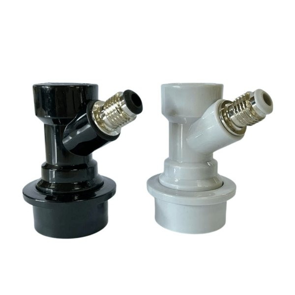 "Kit Conector Ball Lock Gás/Líquido para Postmix (ROSCA 7/16"")"
