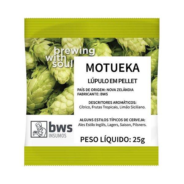 Lúpulo BWS Motueka - 25 GRAMAS (pellets)