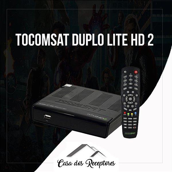 TOCOMSAT DUPLO LITE HD 2 NOVA ATUALIZAÇÃO V1.31 - 31/07/2017