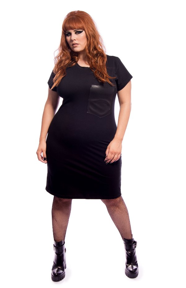 Vestido Black Ghotic Plus Size