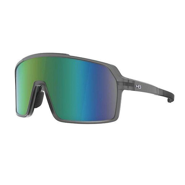 Óculos De Sol Hb Grinder M Smoky Quartz Green Chrome