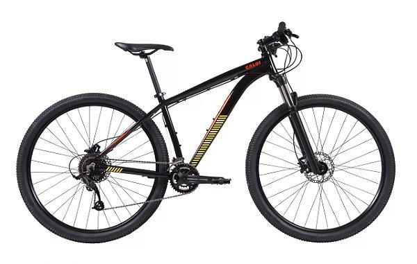 Bicicleta Caloi Moab Aro 29 Microshift 18v  tam M Preto