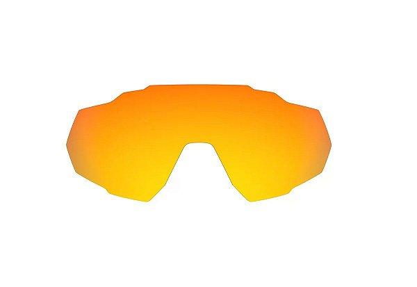 Lente para Oculos HB Spin Vermelho Espelhado