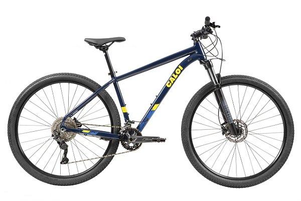 Bicicleta Caloi Explorer Expert Deore Tam M Ano 21 Azul