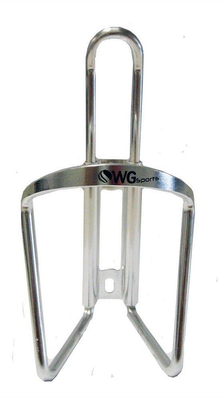 Suporte de Caramanhola (Garrafinha) WG Sports Aluminio Polido