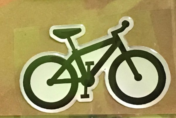 Adesivo para Carro Cromarca Bike Resina MTB