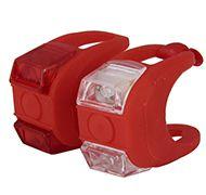 Kit de Iluminação de Silicone JY-267-6 2 Leds Vermelho
