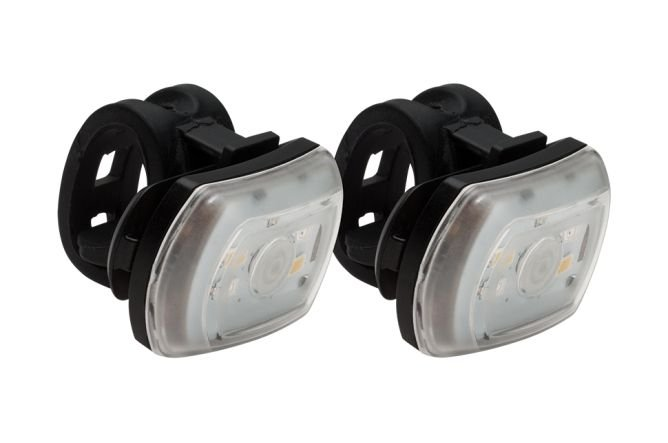 Kit de Iluminação BlackBurn 2'Fer Recarregavel USB 60 Lumen Frente 20 Lumen Tras