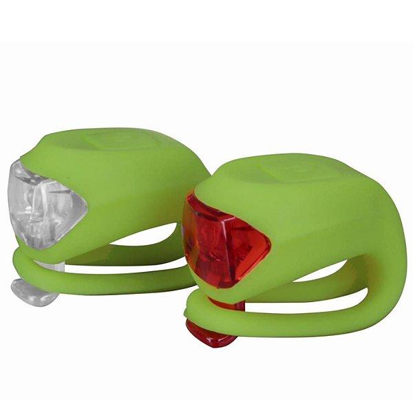 Kit de Iluminação de Silicone JY-267-2-B1 1 Led Verde