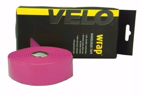 Fita de Guidão Velo Wrap VLT-001SG EVA com Gel Tape Rosa  Speed Road