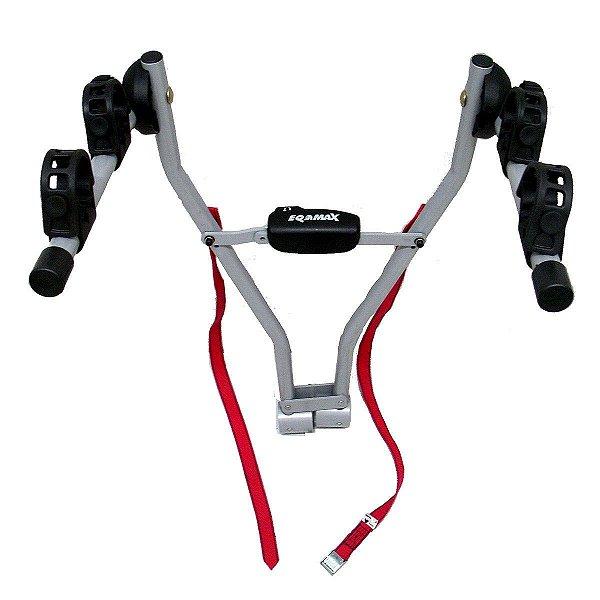 Suporte Eqmax Dobrável de Bicicletas para Engate Easy 2 para 2 Bicicletas