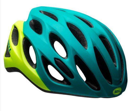 Capacete Bell Draft de Ciclismo Mtb Lazer Urbano Tamanho Único 54-61cm Verde Amarelo