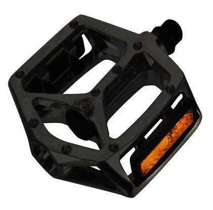 Pedal Wellgo Free Style b249 Plataforma de Rolamento Alumínio RG 9/16 Preto