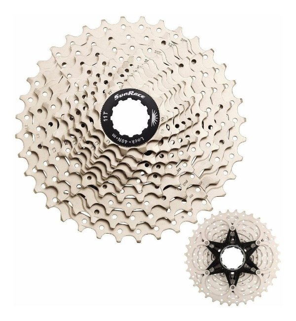 Cassete SunRace Sprocket RS1 Road 10M 11-32D 10velocidades