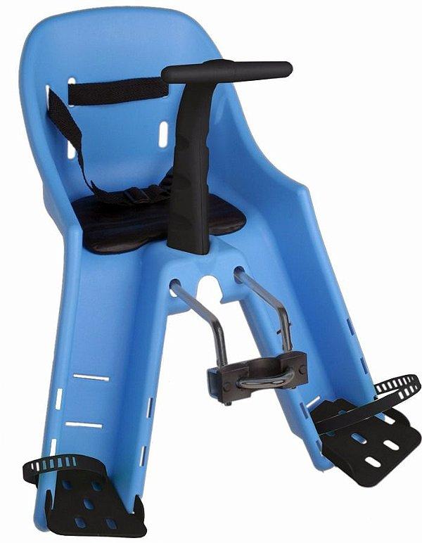 Cadeirinha Dianteira Kalf Baby Bike para Crianças de até 15kg Azul