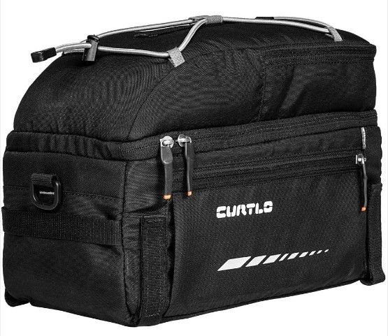 Alforje Traseiro Curtlo Rack Pack 12lts