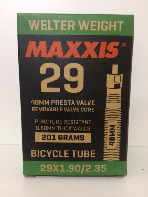 Câmara de Ar Maxxis  Welter Weight Aro 29.5x1.95-2.3 48mm Válvula Presta