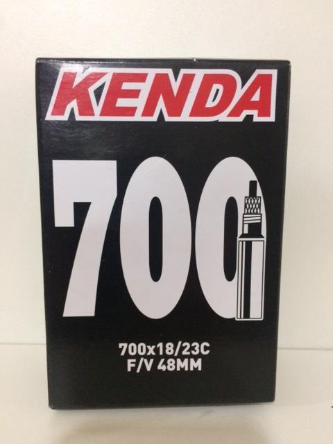 Câmara de Ar kenda 700x18/23c com Válvula Presta F/V 48mm