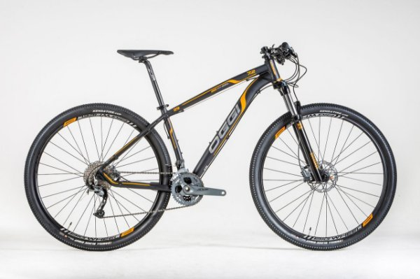 Bicicleta Oggi Big Whell 7.2 MTB 29er Shimano Alivio 27vel Preto Laranja