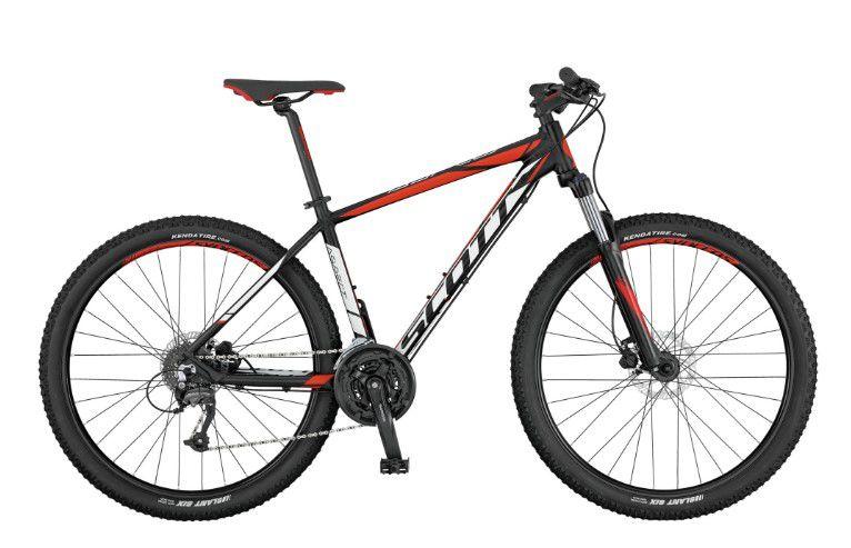 Bicicleta Scott Aspect 950 MTB 29er Shimano 24Vel Disco Hidraulico Preto Branco Vemelho 2017
