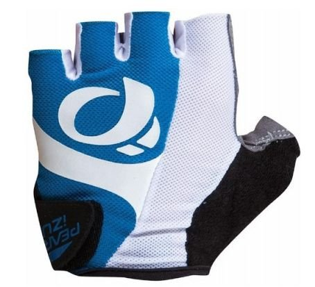 Luva Pearl Izumi Select de Ciclismo Unissex MTB Speed Lazer Dedo Curto Azul Branco
