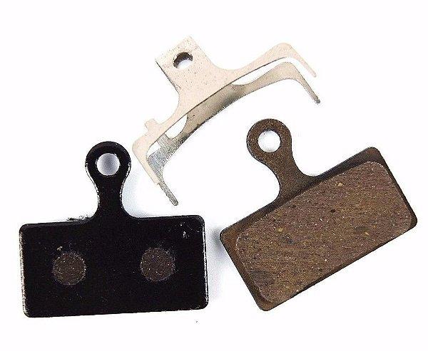 Pastilha de Freio a Disco Bengal PS07SS07 em Resina (Composto Orgânico) para Freios Shimano XTR m615 Base de Aço