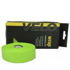 Fita de Guidão Velo Wrap VLT-001SG EVA com Gel Tape Verde Speed Road