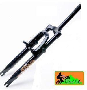 """Suspensão Zoom MTB 325 de rosca 21.1mm Aço Aro 26"""" para Freio V-brake"""