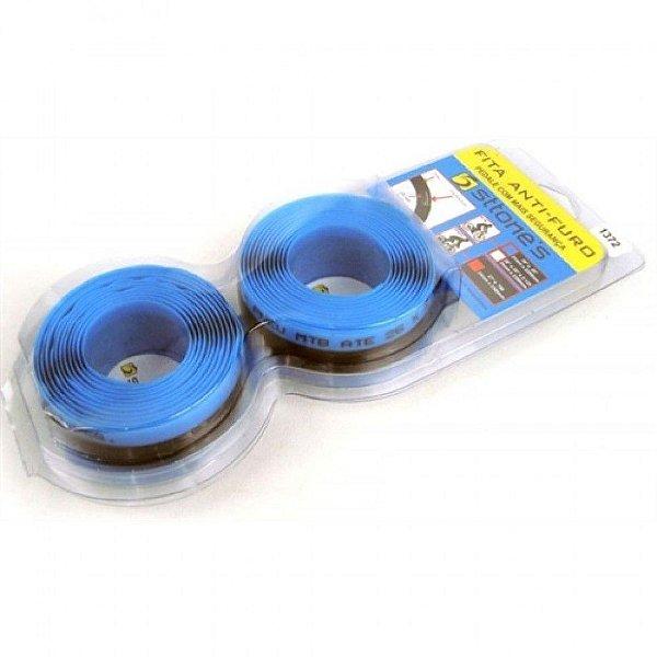 Fita Anti-furo Sttone's para Bicicletas MTB Aro 26 - 31mm x 2,2mts (Par) Azul