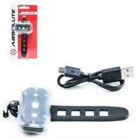 Vista Light Absolute JY-7050 Pisca de 2 funçoes Dianteiro e Traseiro Recarregavel USB