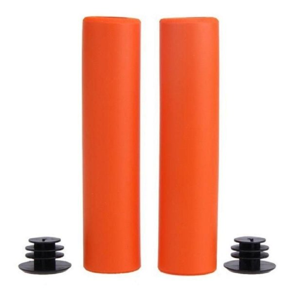 Manopla High One MTB de Silicone 135mm Laranja