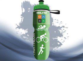 Garrafa Térmica Maxx Bottle Sport Triathlon 700ml Verde