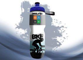 Garrafa Térmica Maxx Bottle Sport Bike 700ml Azul