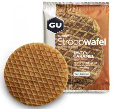 Stroopwafel Gu Energy Waffle Sabor caramelo 32g