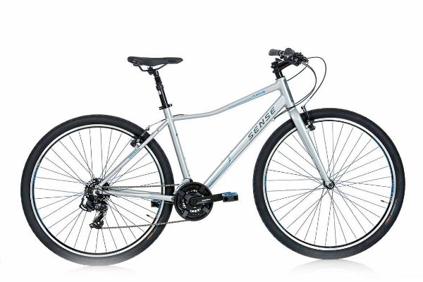 Bicicleta Sense Move Urbana Aro 700 Shimano 21Vel Cinza