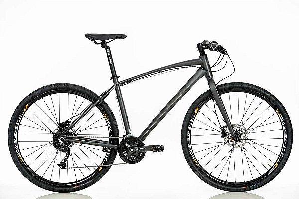 Bicicleta Sense Active Urbana Aro 700 Shimano 27Vel Freio disco hidráulicos
