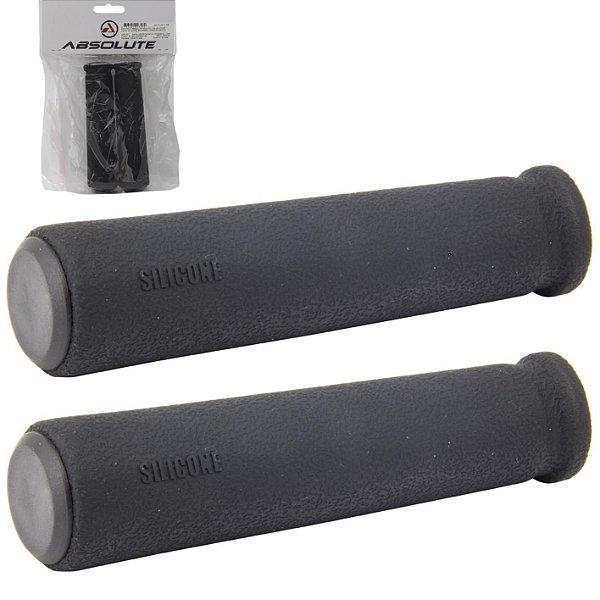 Manopla Absolute de Silicone Pro SG2 128mm Preto
