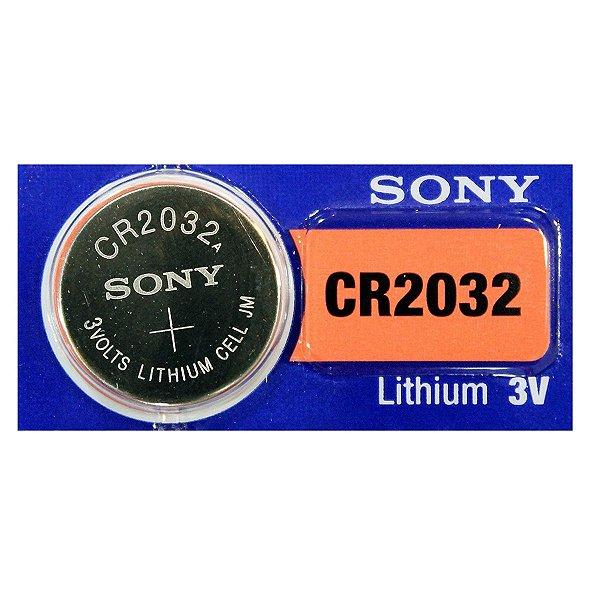 BATERIA SONY LITHIUM 3V CR 2032