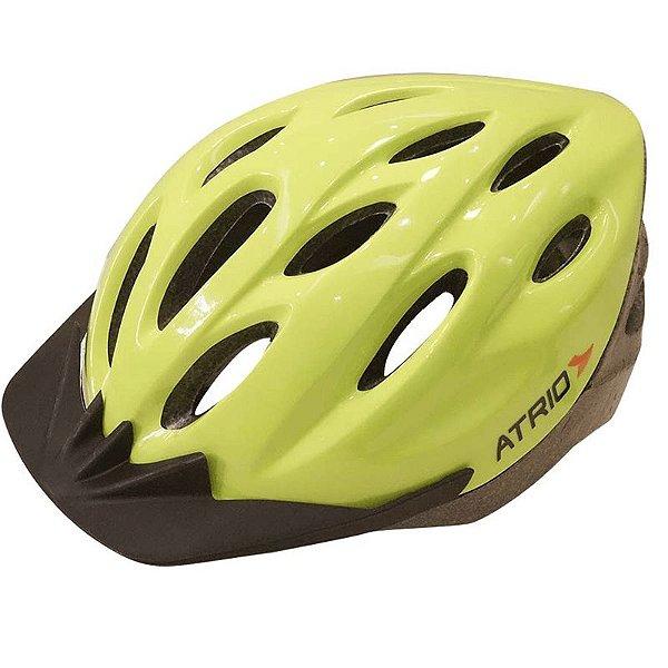 Capacete Atrio Ciclismo MTB Lazer com Led Verde