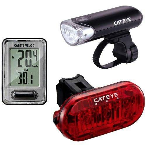 Kit Cateye Go Kit Hl-el135 E Vista Light Cateye Ld135r Omni3 Velo 7