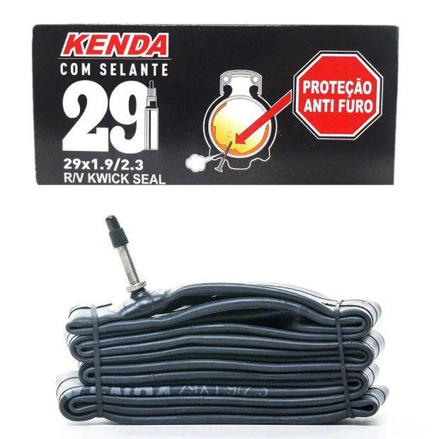 Camara De Ar Kenda Com Selante 29x1.9/2.3 Bico Fino F/V