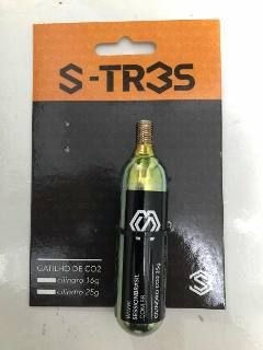 Safe plug Com Bomba de Gatilho de Co2 1 refil 25g S-tres