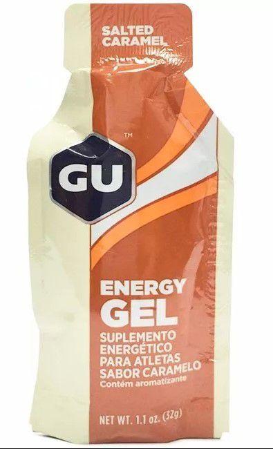Gel Energético Gu Sports Sache 32g Sabor Caramelo - 5 unidade
