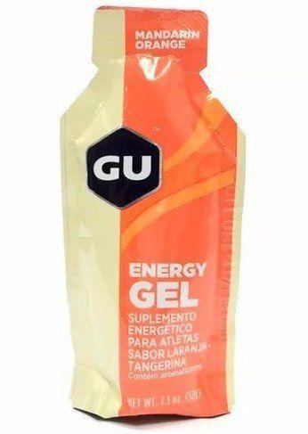 Gel Energético Gu Sports Sache 32g Sabor Laranja - 5 unidade