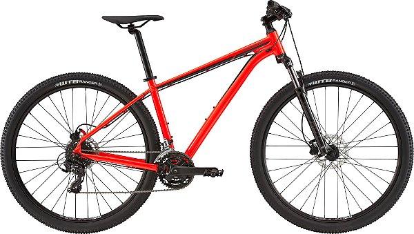 Bicicleta Cannondale Trail 7 Vermelho 24 velocidades Tamanho M