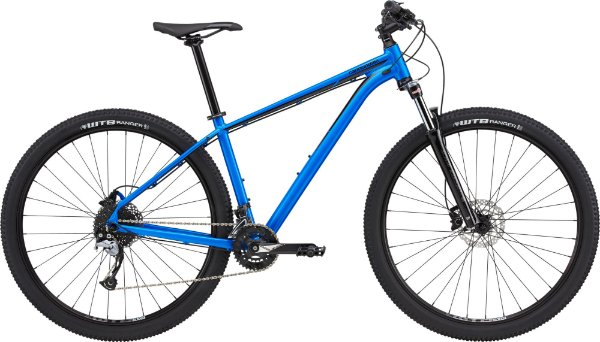 Bicicleta Cannondale Trail 5 Azul 18 velocidades Tamanho M