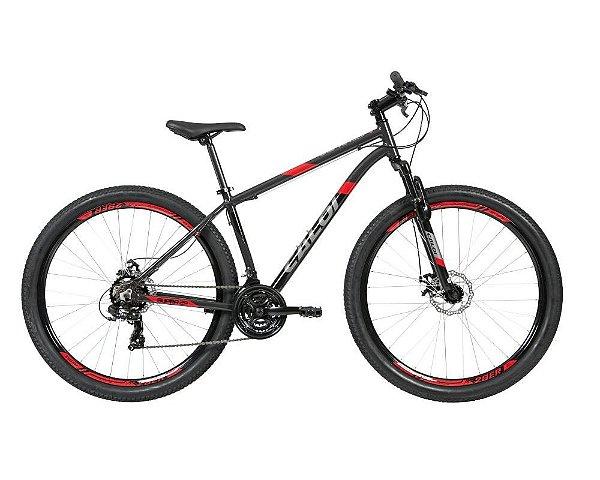 Bicicleta Caloi Supra 29 Aro 29 21 V Disco Cinza
