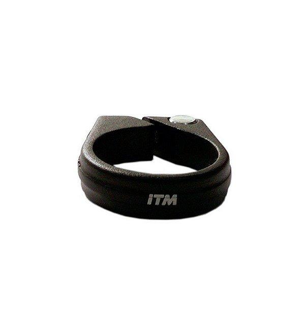Abraçadeira de Selim ITM 34.9mm Alumínio Compatível com Canotes 30.9mm e 31.6mm sem Blocagem